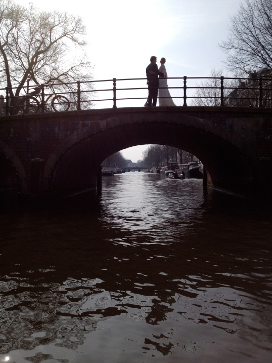 Hallmark moment in Amsterdam