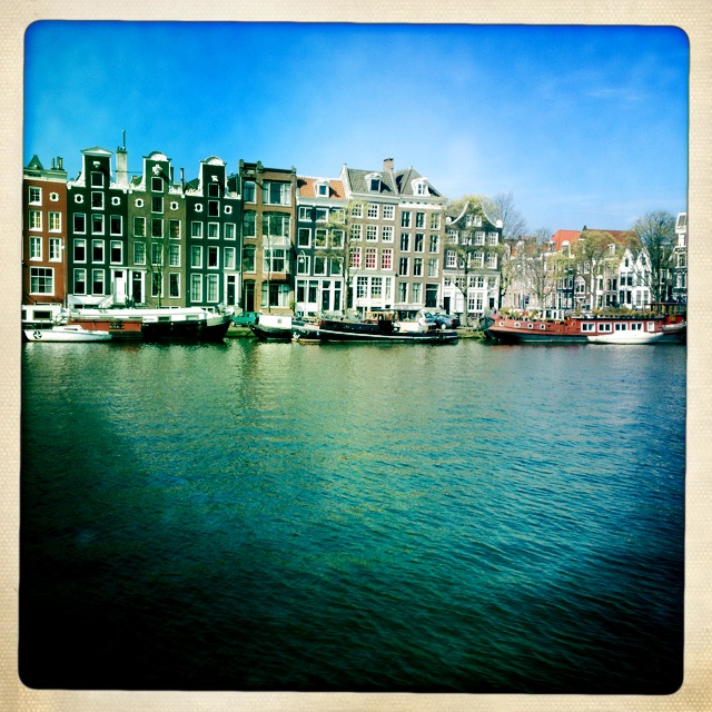 Amsterdam office view