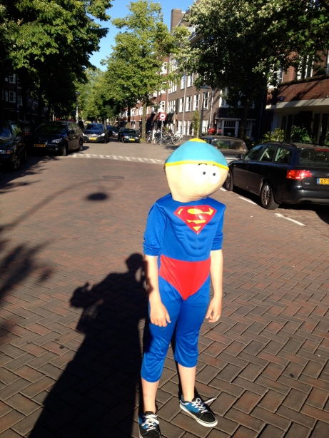 superman in Amsterdam